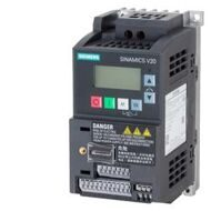 SINAMICS V20 1AC200-240V -10/+10% 47-63HZ RATED POWER 0,37KW WITH 150% OVERLOAD FOR 60SEC Filter B I/O-INTERFACE: 4DI, 2DO,2AI,1AO FIELDBUS: USS/ MODB